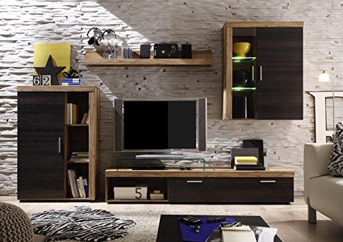 moebeldeal wohnwand. Black Bedroom Furniture Sets. Home Design Ideas
