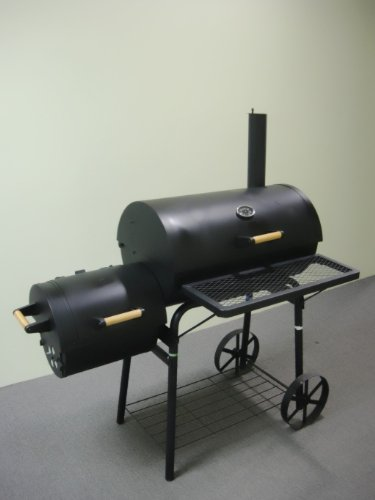 32kg-PROFI-XXL-Smoker-BBQ-GRILLWAGEN-Holzkohle-Grill-Grillkamin-ca-15-mm-Stahl-PROFI-QUALITT-OGA032-0-1