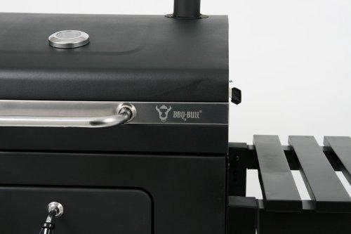 BBQ-Bull-Luxus-Grillwagen-Black-Oak-Holzkohle-Barbecue-Grill-Smoker-0-2