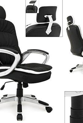 Brostuhl-Komfort-schwarz-Drehstuhl-Chefsessel-Schreibtisch-0