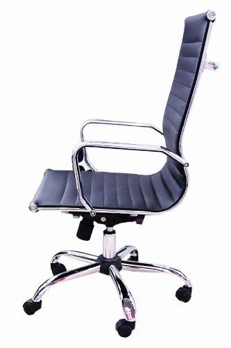 Brostuhl-Schreibtischstuhl-Drehstuhl-Chefsessel-schwarz-Echtleder-Alpha-Elegance-0-1