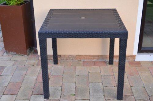 Gartentisch-Tisch-Bistrotisch-Beistelltisch-Rattan-Optik-anthrazit-79-x-79-cm-0-0
