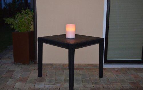Gartentisch-Tisch-Bistrotisch-Beistelltisch-Rattan-Optik-anthrazit-79-x-79-cm-0-5