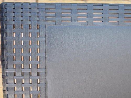 Gartentisch-Tisch-Bistrotisch-Beistelltisch-Rattan-Optik-anthrazit-79-x-79-cm-0-6