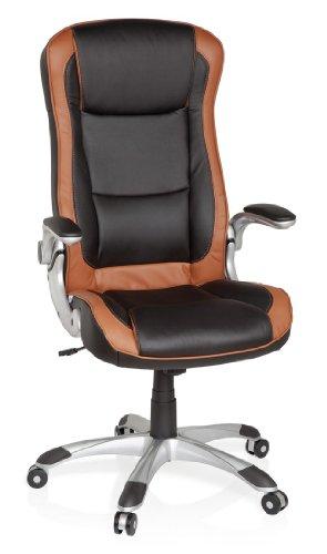 HJH-Office-621770-Brostuhl-Chefsessel-Racer-Compact-hellbraun-schwarz-0-16