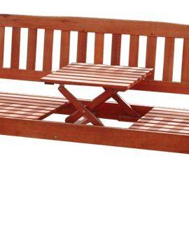 KMH-Gartenbank-aus-massivem-Eukalyptusholz-mit-integriertem-einklappbarem-Tisch-101909-0