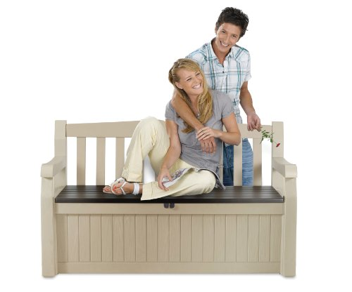 moebeldeal gartenbank und kissenbox. Black Bedroom Furniture Sets. Home Design Ideas