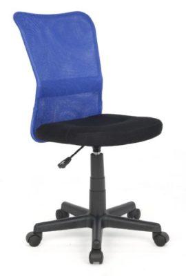 SixBros-Brostuhl-Drehstuhl-Schreibtischstuhl-BlauSchwarz-H-298F1327-0