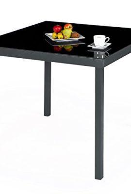 Ultranatura-Aluminium-Gartentisch-Korfu-SerieGrau-0