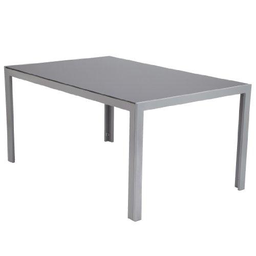 Ultranatura-Aluminium-Glastisch-Korfu-Serie-150-x-96-x-73-cm-0-0