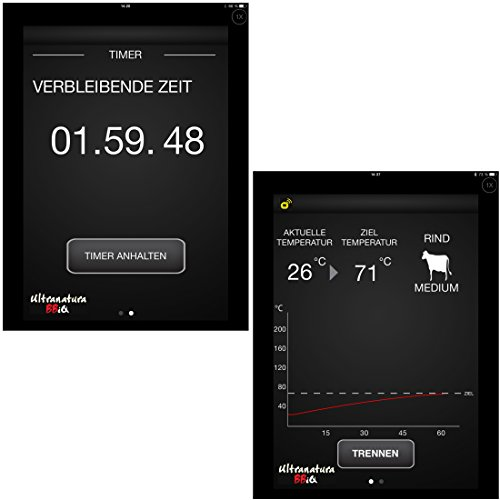 Ultranatura-BBiQ-Thermometer-Bluetooth-Brat-und-Grillthermometer-inkl-App-0-4