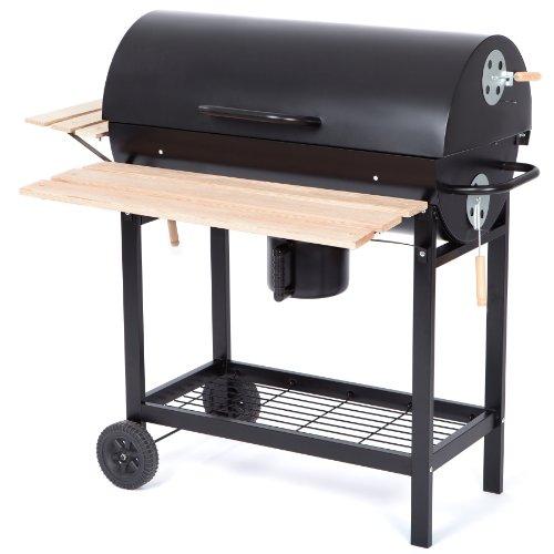 Ultranatura-Smoker-Holzkohle-Grill-Alamo-BBQ-Grillwagen-0-0