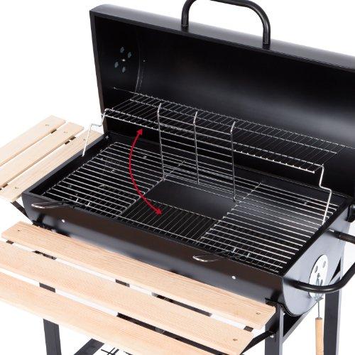 Ultranatura-Smoker-Holzkohle-Grill-Alamo-BBQ-Grillwagen-0-1