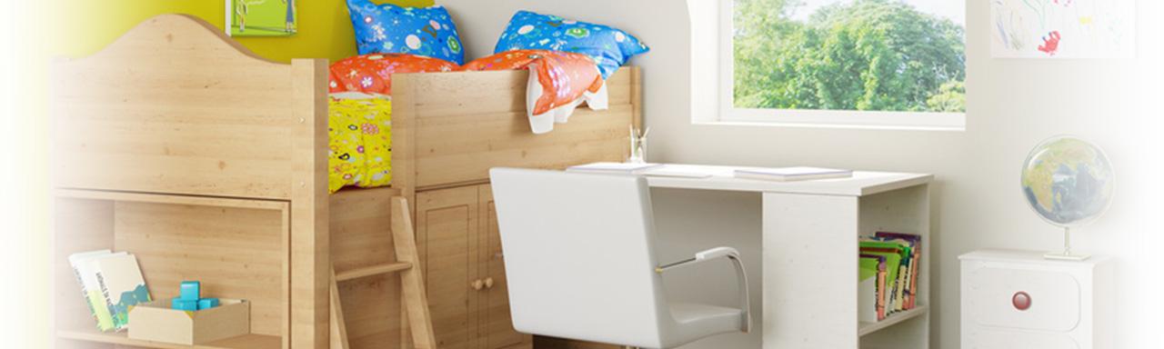 Kinder- und Jugendzimmer