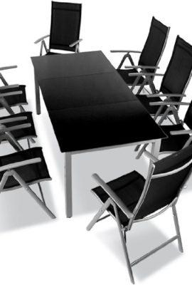 9-teilige-Gartengarnitur-Alu-Sitzgarnitur-Sitzgruppe-mit-Glastisch-komfortable-Aluminium-Gartenmbel-hellgrau-0