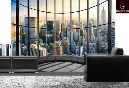 Eurographics-DW-DT2011-Deco-Wall-Fototapete-New-York-Office-View-254-x-366-cm-0-0