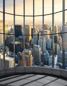 Eurographics-DW-DT2011-Deco-Wall-Fototapete-New-York-Office-View-254-x-366-cm-0