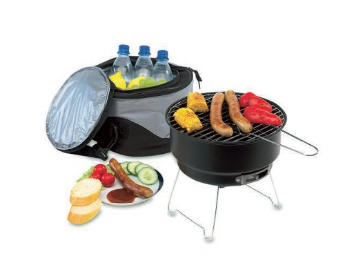 Picknick-Grill-Nice-to-have-silberfarben-Gre-0