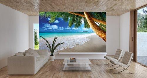moebeldeal fototapete beach. Black Bedroom Furniture Sets. Home Design Ideas