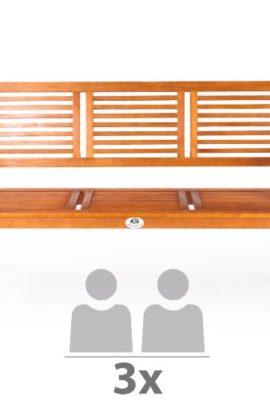 Ultranatura-Gartenbank-3-Sitzer-Canberra-Serie-Edles-Hochwertiges-Eukalyptusholz-FSC-zertifiziert-158-cm-x-615-cm-x-89-cm-0