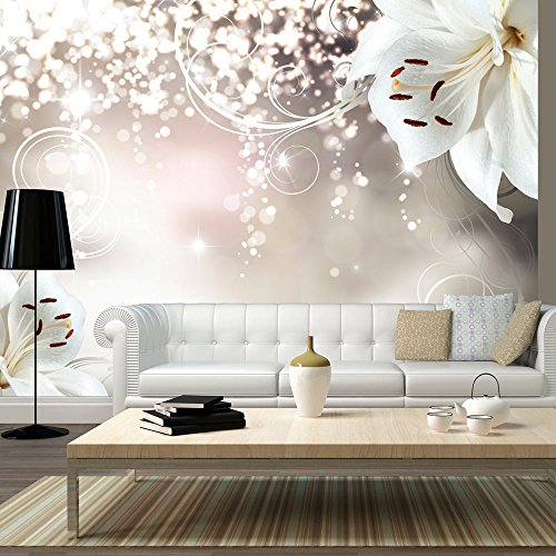 moebeldeal vlies fototapete blumen. Black Bedroom Furniture Sets. Home Design Ideas