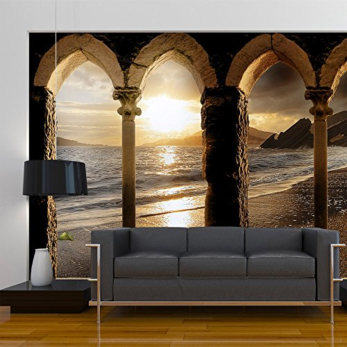 moebeldeal vlies fototapete sonnenuntergang. Black Bedroom Furniture Sets. Home Design Ideas
