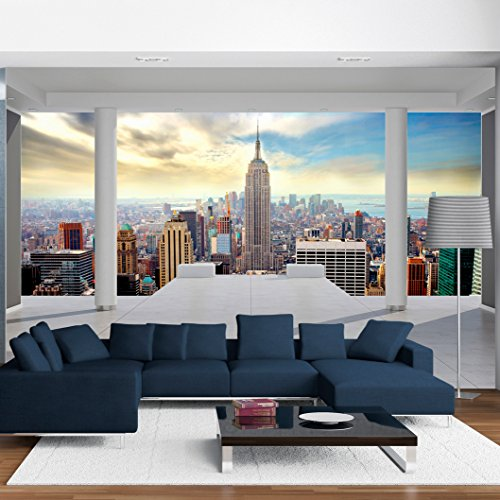 moebeldeal vlies fototapete new york architektur. Black Bedroom Furniture Sets. Home Design Ideas