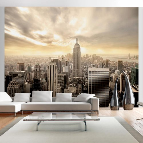 moebeldeal vlies fototapete new york. Black Bedroom Furniture Sets. Home Design Ideas