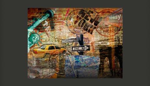 Vlies-Fototapete-350x270-cm-Top-Tapete-Wandbilder-XXL-New-York-10040904-56-0-0
