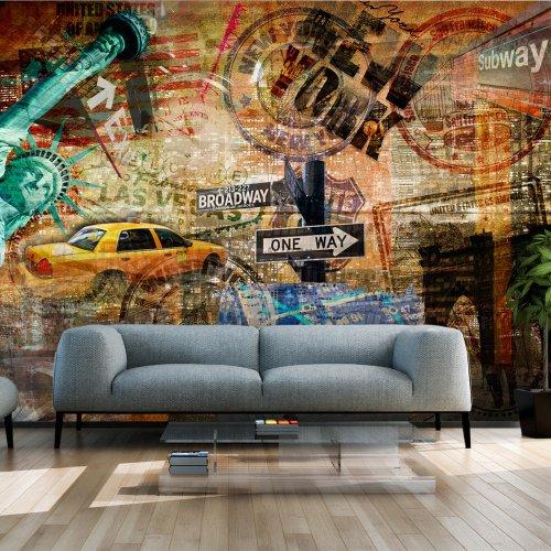 Vlies-Fototapete-350x270-cm-Top-Tapete-Wandbilder-XXL-New-York-10040904-56-0