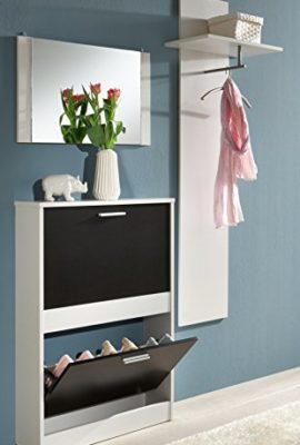 trendteam-1196-236-Garderoben-Set-3-teilig-Nachbildung-110-x-190-x-17-cm-schwarz-wei-0