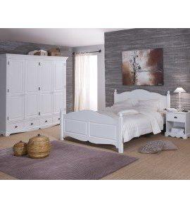 Schne-Mbel-nicht-komplett-zu-erinnern-Schlafzimmer-Bett-140-Wei-0