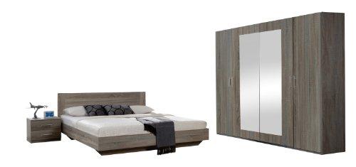 Wimex-749323-Schlafzimmer-Set-bestehend-aus-Bett-180-x-200-cm-Nachtschrankpaar-je-zwei-Schubksten-und-Kleiderschrank-4-trig-225-x-210-x-58-cm-0