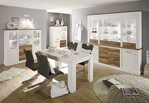 trendteam-TR92161-Highboard-Wohnzimmerschrank-Landhausstil-weiss-Pinie-Absetzungen-Nussbaum-satin-BxHxT-210x210x42-cm-0-2