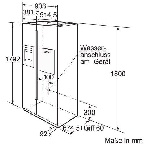 Bosch-KAN60A45-Side-by-Side-A-Khlen-356-L-Gefrieren-161-L-No-Frost-Trinkwasser-Dispenser-0-1