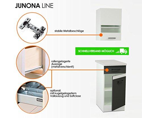 kuchenschranke junona line : ... Junona Line Set 240 ? 4 Fronten w?hlbar (EICHE / EICHE