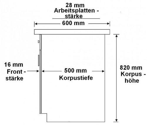 Kche-Dave-240-cm-Kchenzeile-Kchenblock-variabel-stellbar-in-Eiche-Sonoma-Trffel-0-1