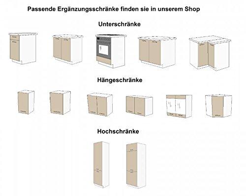 Kche-Dave-240-cm-Kchenzeile-Kchenblock-variabel-stellbar-in-Eiche-Sonoma-Trffel-0-3