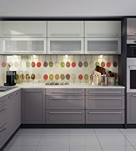 Kchenzeile-169038-Kche-L-Form-240x370cm-lava-vanille-beige-0