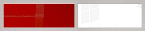 Kchenzeile-Kchenblock-16893-L-Form-250-x-210-cm-grau-rosenrot-wei-Hochglanz-0-0