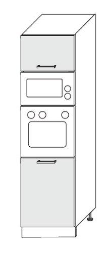 Kchenzeile-Kchenblock-16893-L-Form-250-x-210-cm-grau-rosenrot-wei-Hochglanz-0-2